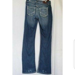 BKE Womens Harper Boot Cut Jeans 29 X 34